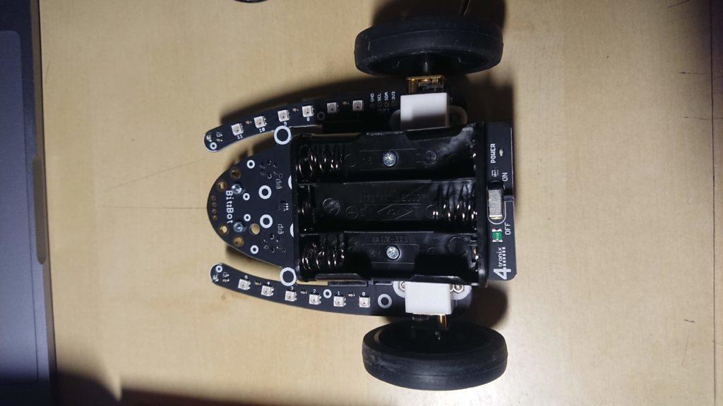 ビットボットにタイヤをはめる